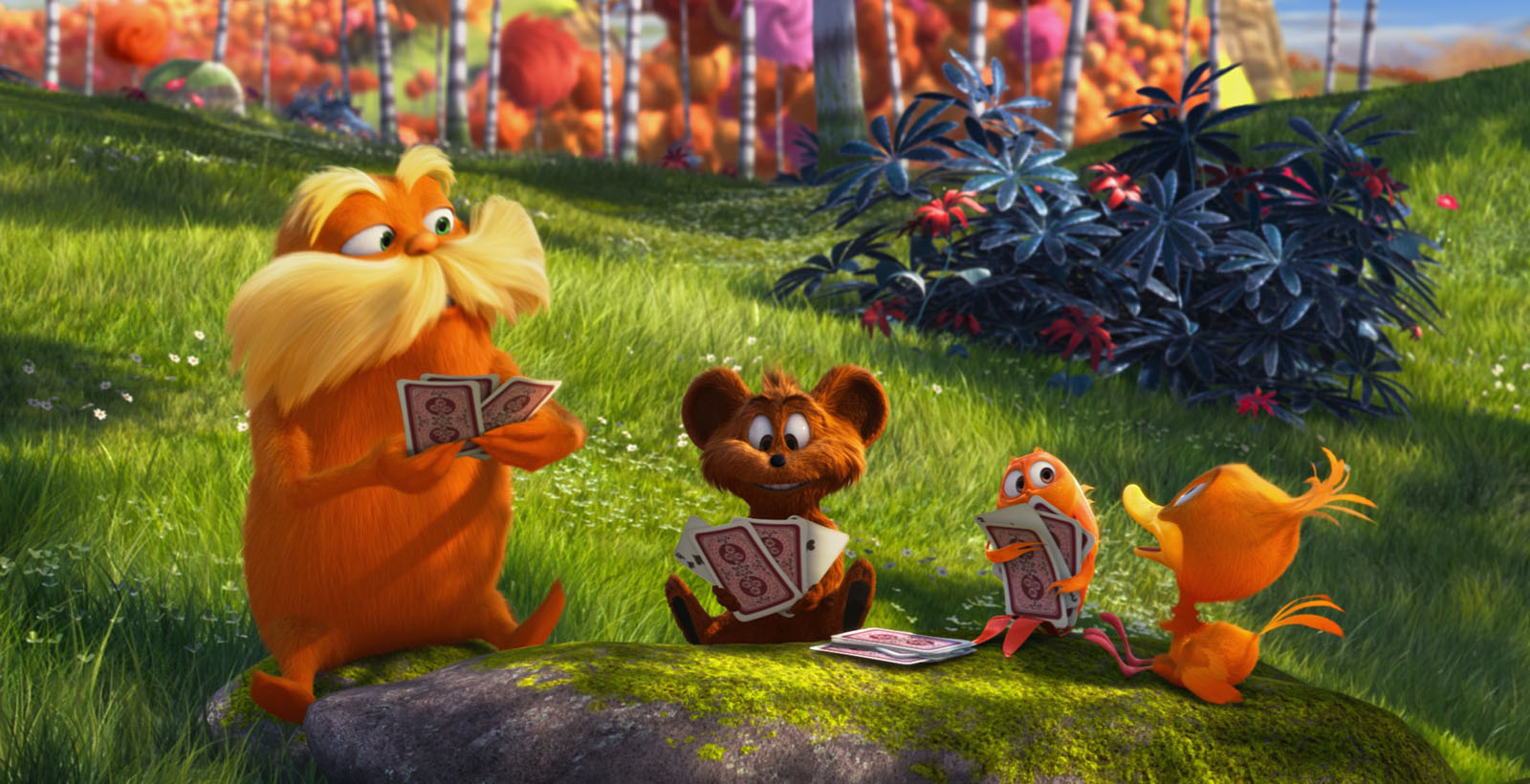 LE LORAX - The Lorax Illumination Entertainment Mac Guff Movie film 2012 Image 1 - Go with the Blog