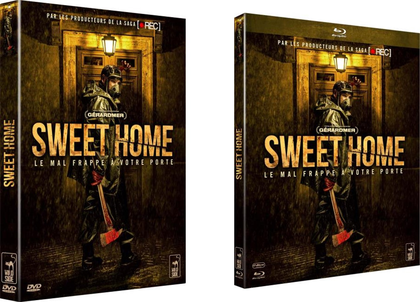 SWEET HOME - DVD Blu ray packshots 2 Wild Side Cats film pelicula Rafael Martinez - Go with the Blog