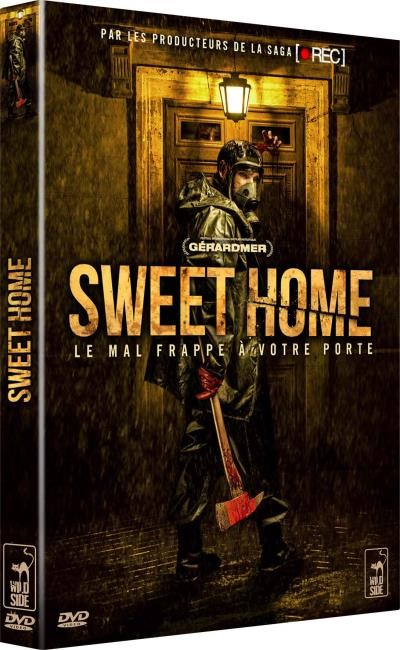 SWEET HOME - DVD seul Visuel pour lot concours Wild Side Cats film pelicula Rafa Martinez - Go with the Blog
