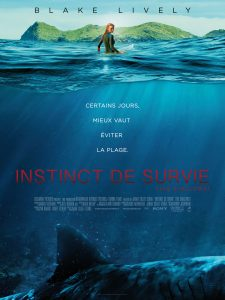 INSTINCT DE SURVIE THE SHALLOWS - Affiche FRANCE officielle Blake Lively film 2016 Sony Pictures - Go with the Blog
