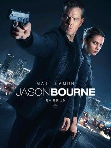 Jason Bourne - Go with the Blog - Affiche