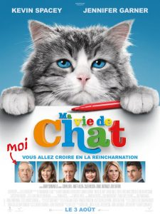MA VIE DE CHAT - Affiche FR Kevin Spacey film EuropaCorp 3 aout 2016 - Go with the Blog