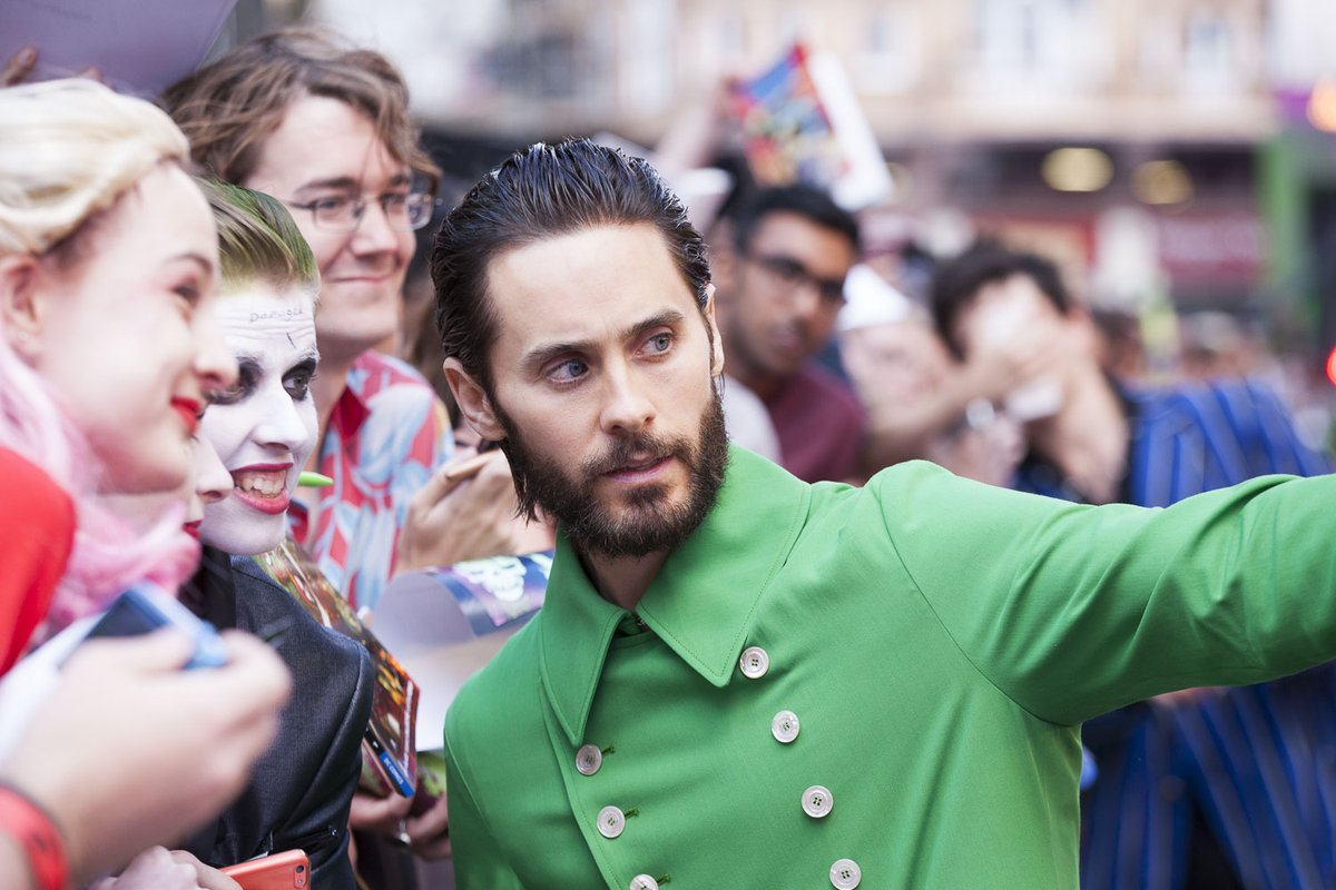 SUICIDE SQUAD - Suicide Squad European Premiere London Leicester Square 03 august 2016 Jared Leto 5 - Go with the Blog