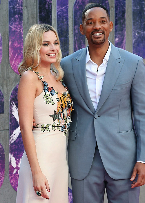 SUICIDE SQUAD - Suicide Squad European Premiere London Leicester Square 03 august 2016 Margot Robbie Will Smith - Go with the Blog