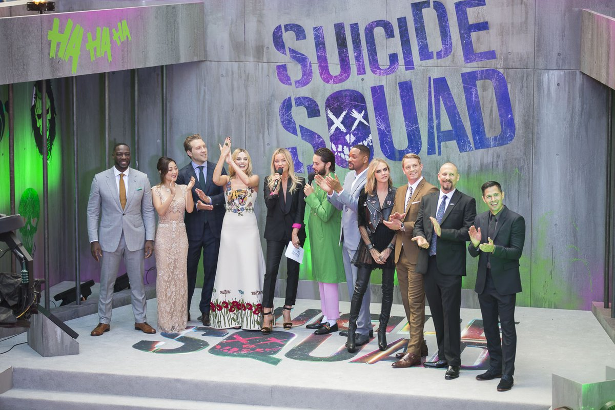 SUICIDE SQUAD - Suicide Squad European Premiere London Leicester Square 03 august 2016 Whole Casting 1 - Go with the Blog