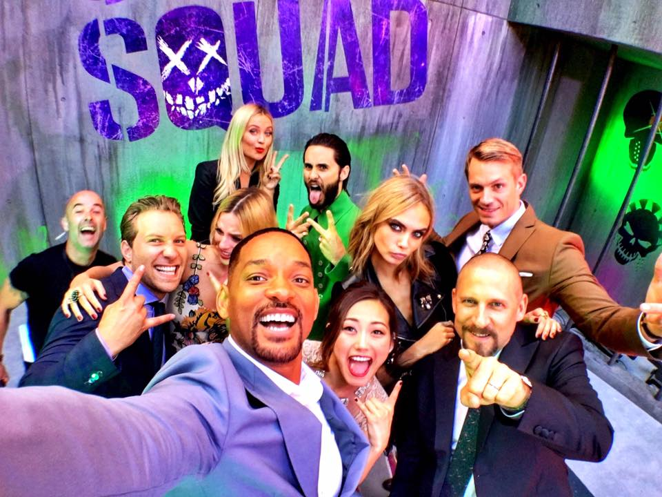 SUICIDE SQUAD - Suicide Squad European Premiere London Leicester Square 03 august 2016 whole casting 2 - Go with the Blog