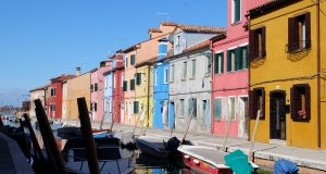Burano près de Venise : l'île arc-en-ciel