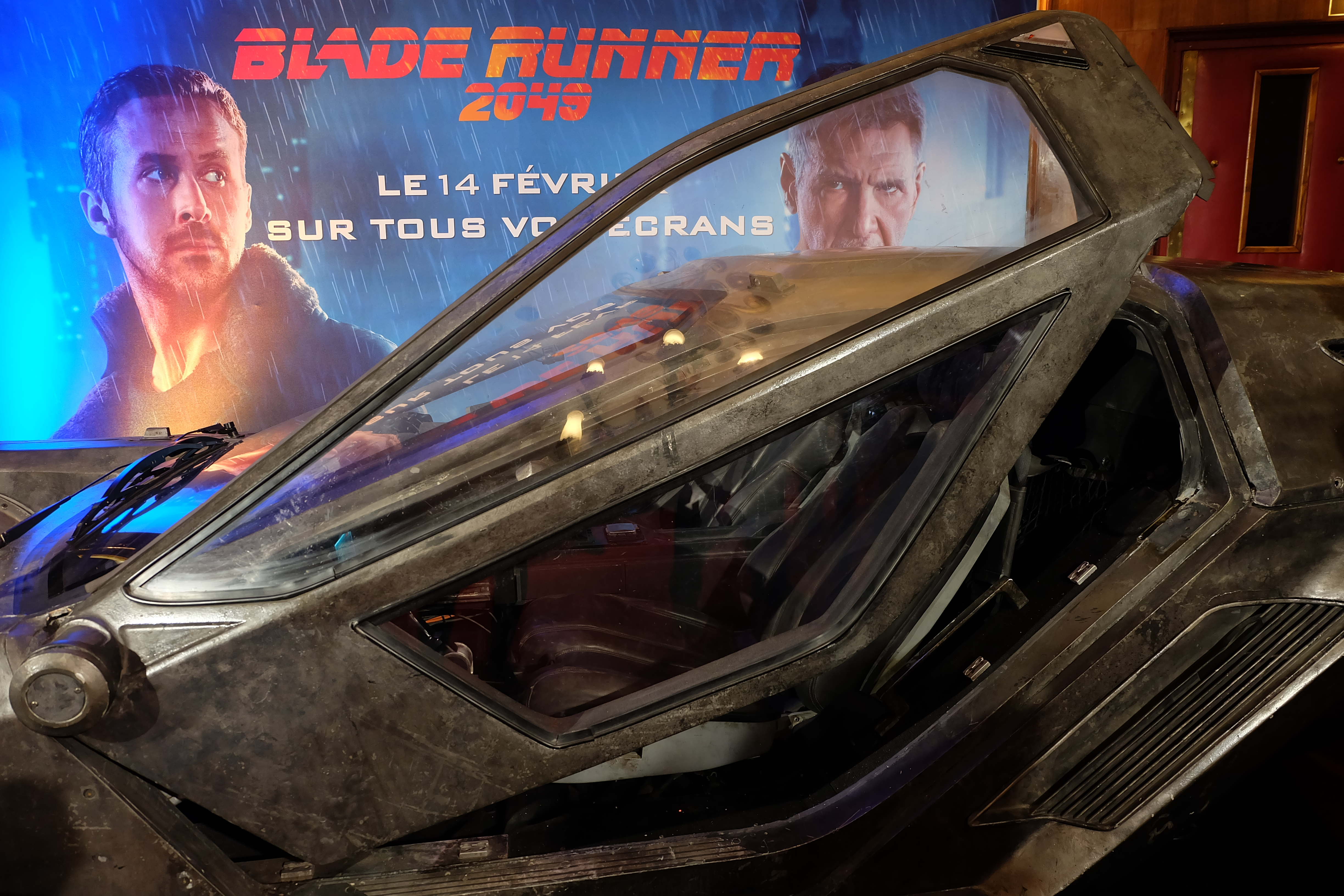 BLADE RUNNER 2049 : LA SPINNER CAR !