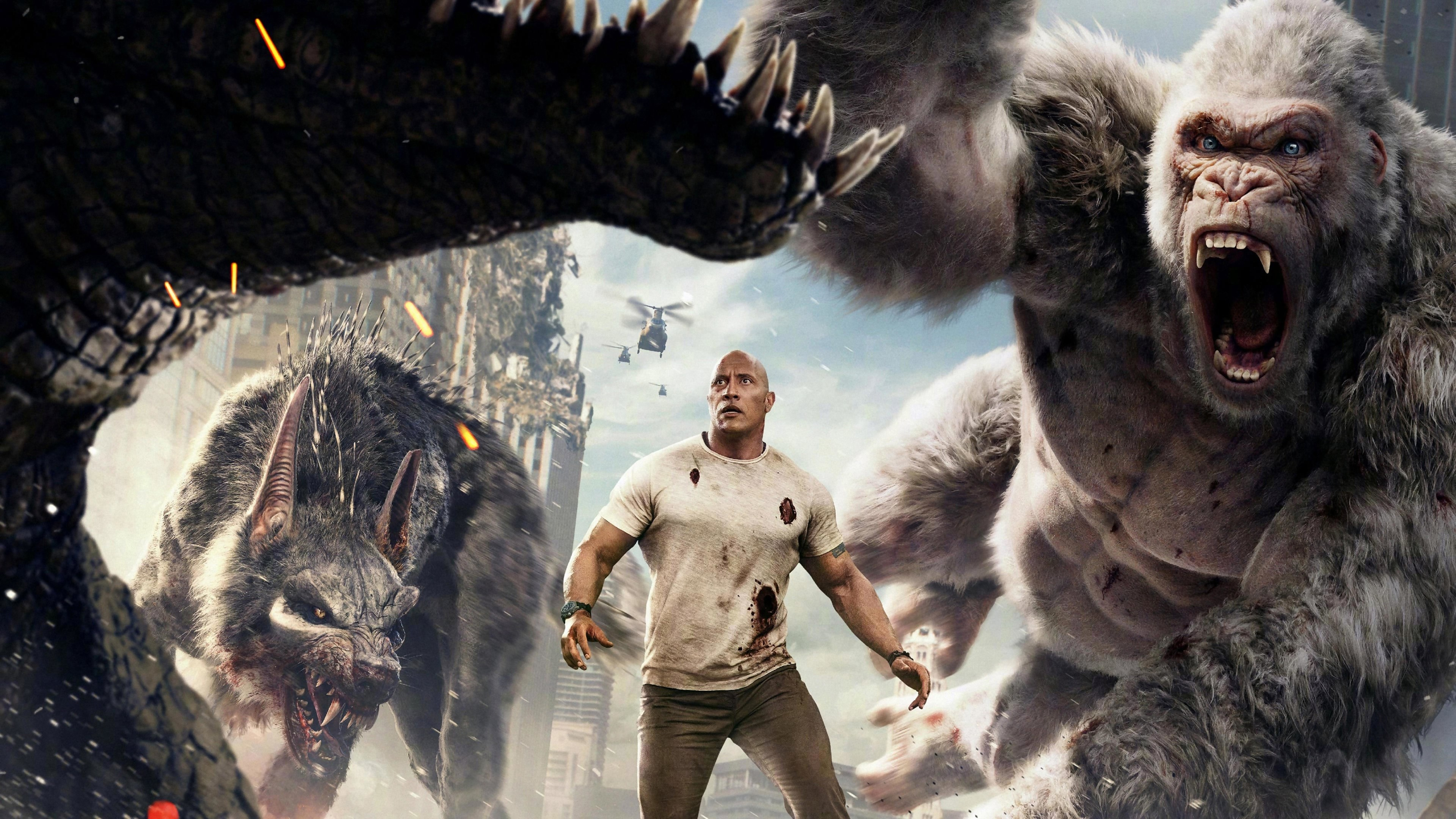 RAMPAGE : MONSTRES ET CIE